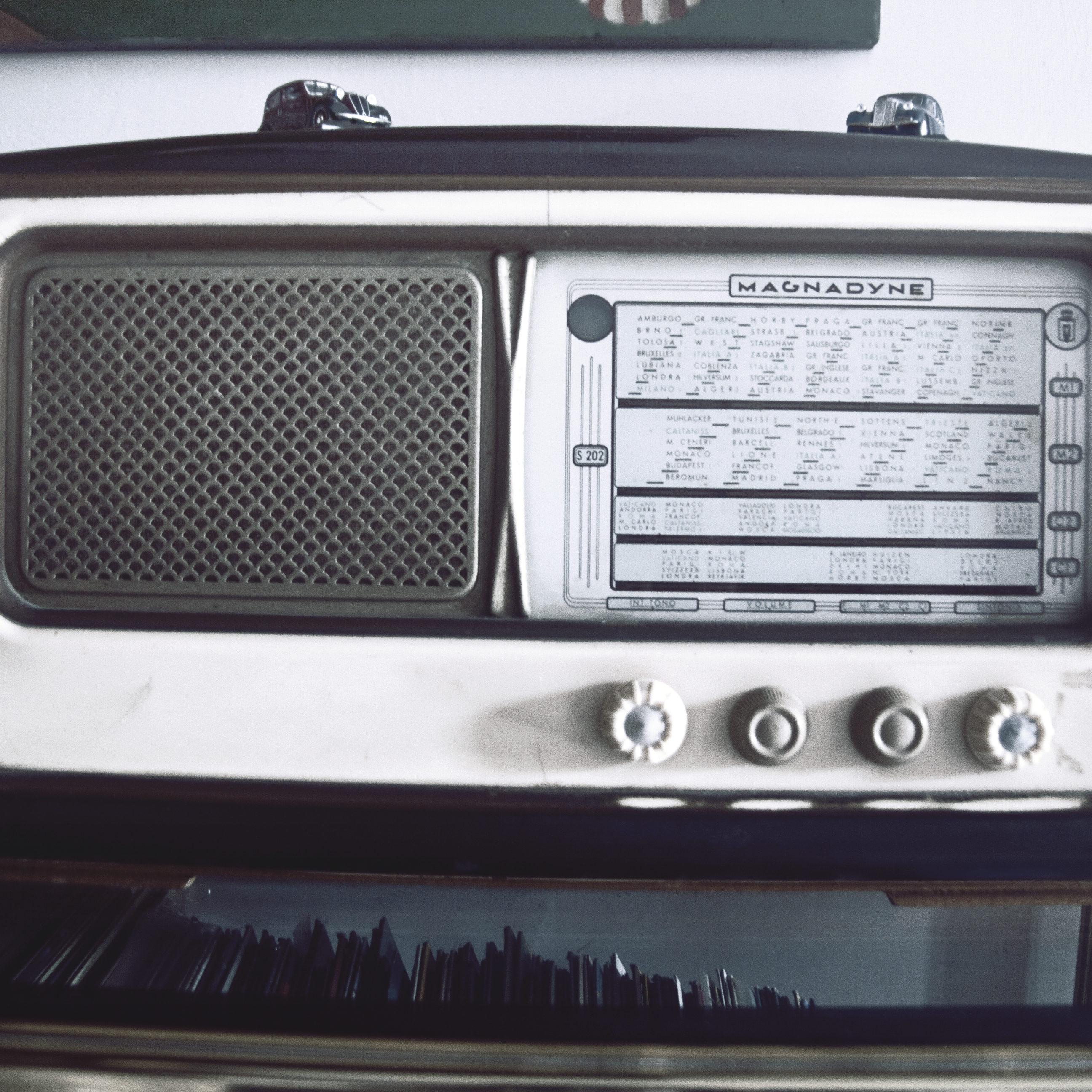 Ancienne radio vintage PLANETECH3D impression 3D pièces détachées